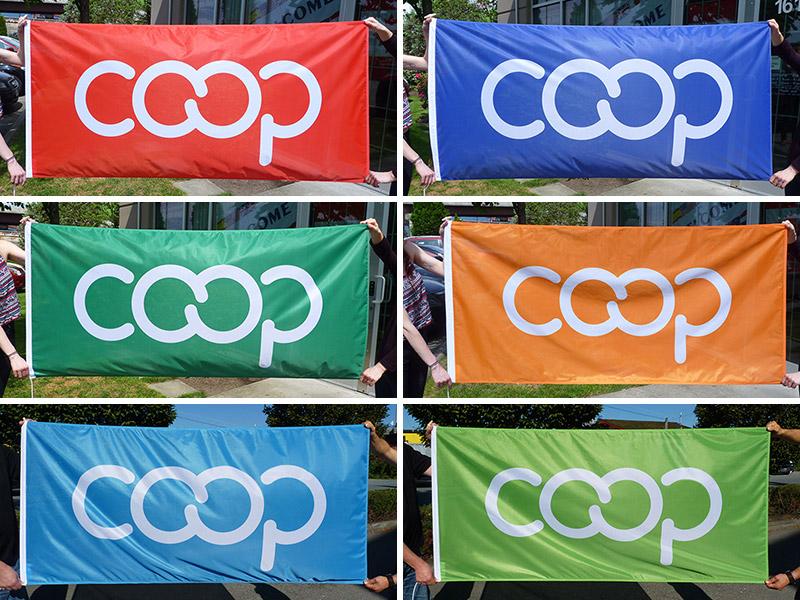 Coop Flags