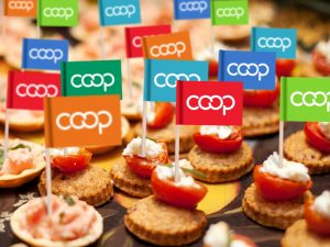 Co-op Toothpick Flags